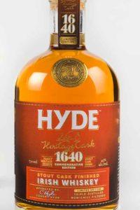 Hyde 4 år Stout Cask Finish Irish Whiskey, Blended Whisky, Bourbon Cask, Hibernia Distillers, Irsk Whiskey, Irsk Whisky, Sherry Cask