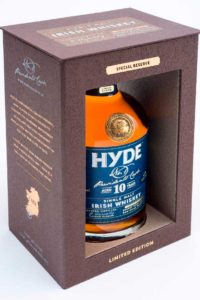 Hyde 10 år Single Malt Irish Whiskey Sherry Finish, Bourbon Cask, Hibernia Distillers, Irsk Whiskey, Irsk Whisky, Single Malt