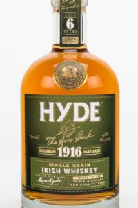 Hyde 6 år Single Grain Irish Whiskey, Bourbon Cask, Hibernia Distillers, Irsk Whiskey, Irsk Whisky