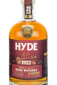 Hyde 6 år Single Malt Irish Whiskey Rum Finish, Bourbon Cask, Hibernia Distillers, Irsk Whiskey, Irsk Whisky, Rum Cask Finish, Single Malt