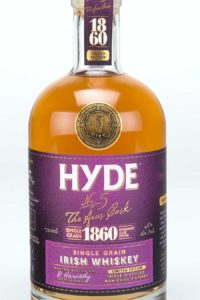 Hyde 6 år Single Grain Irish Whiskey Bourgogne Finish, Bourbon Cask, Hibernia Distillers, Irsk Whiskey, Irsk Whisky