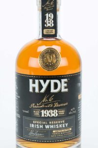 Hyde Blended Irish Whiskey Sherry Finish, Bourbon Cask, Hibernia Distillers, Irsk Whiskey, Irsk Whisky