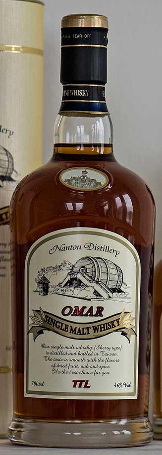 Omar Single Malt Sherry Cask, Nantou Distillery, Taiwansk whisky