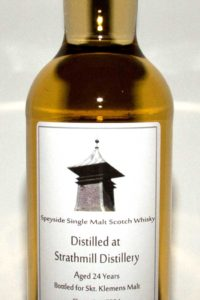 Strathmill 24 år Single Malt Cask Strength, Sherry Cask, Single Cask, Skotsk Whisky, Speyside, Whiskybroker