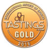 Hyde Single Malt Irish Whiskey Sherry Finish ved Tastings World Spirits Awards 2016 Gold