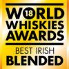 Hyde Blended Irish Whiskey Sherry Finish ved World Whiskies Awards 2018 Best Irish Blended Whiskey Gold