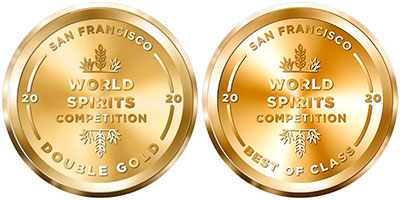 Hyde Blended Irish Whiskey Sherry Finish ved San Francisco World Spirits Competition 2020 Double Gold and Best of Class