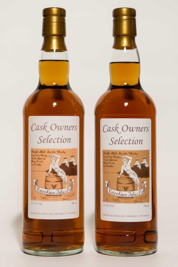 Caol Ila 11 & 12 år Double Matured: Bourbon Cask, Cask Strength, Islay, Sherry Cask Finish, Skotsk Whisky.