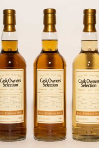 Craigellachie 11 år 3 stk.: Bourbon Cask, Cask Strength, Speyside, Sherry Cask Finish, Skotsk Whisky.