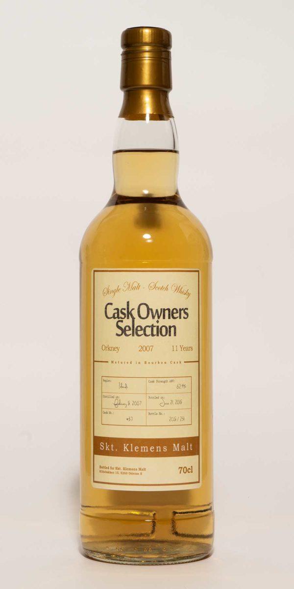 Orkney 11 år Bourbon Cask